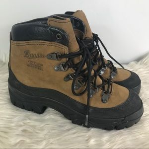 Danner combat hiker made in USA brown hiking boots